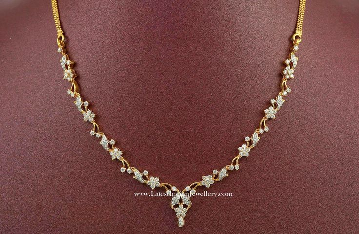 Latest Indian Diamond Necklace Designs