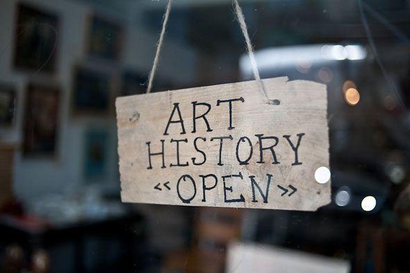 "Virginia Postrel, ""How Art History Majors Power the U.S. Economy,"" Bloomberg and reprinted at The Washington Post (8 January 2012). Image: Art History, a store in Toronto, http://www.blogto.com/design/art-history-toronto."