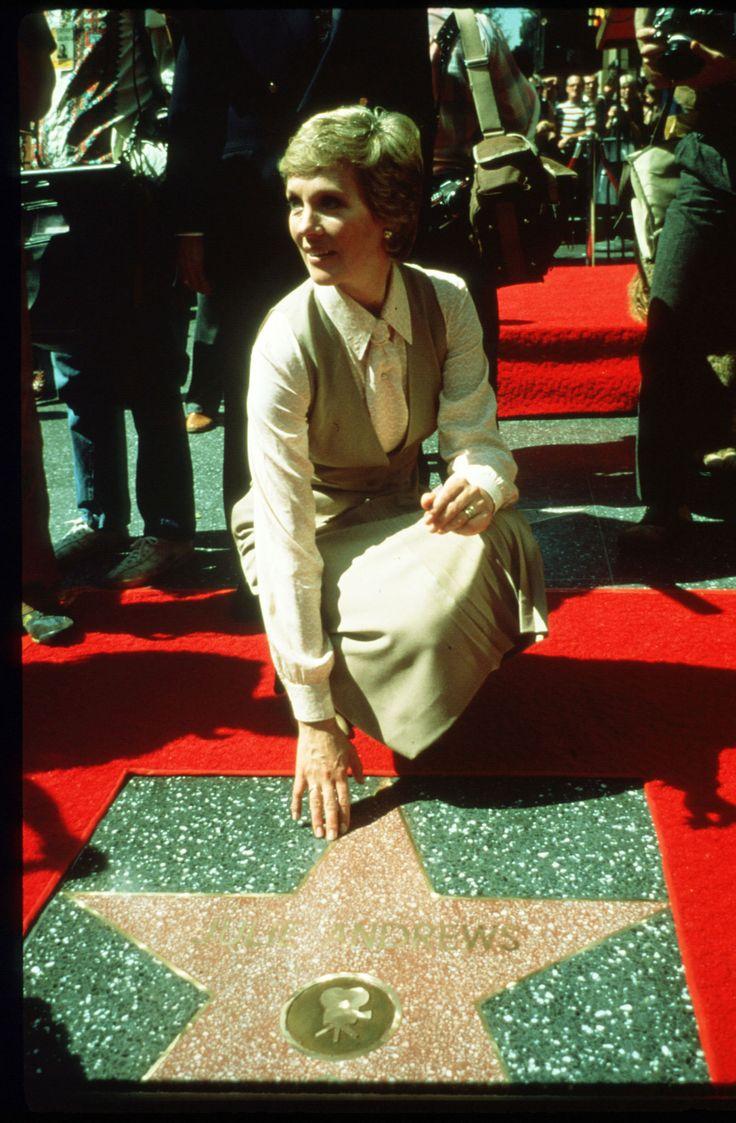 // Julie Andrews Hollywood walk of fame