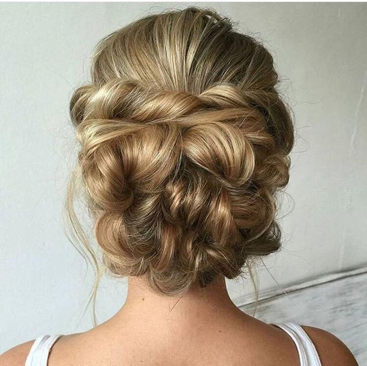 Perfect updo for your special wedding day!