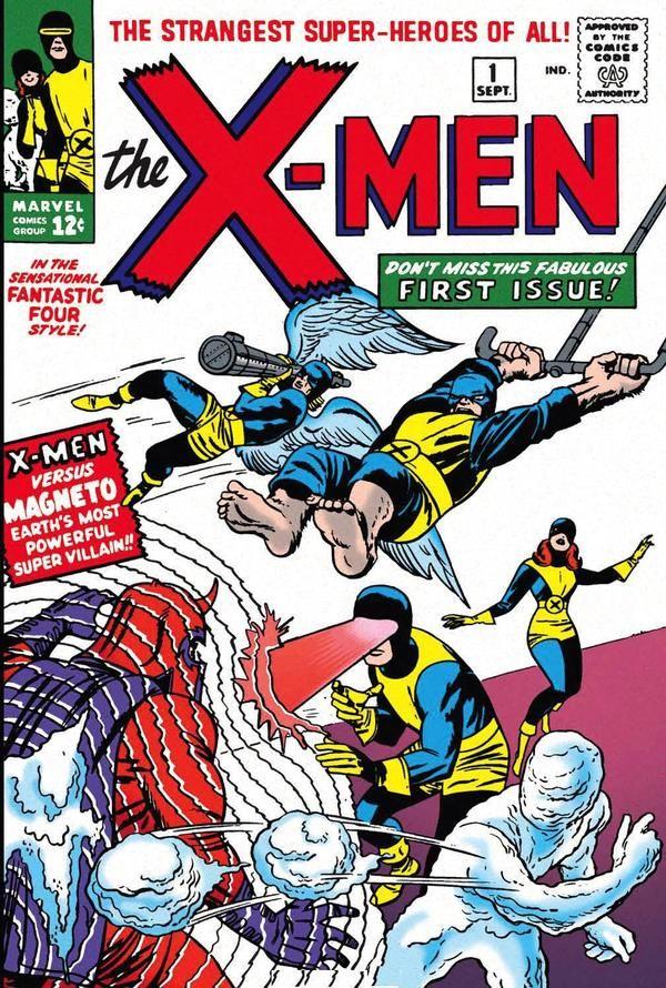 The X-Men #1 - Comic Book Cover Ich hab sie alle ... zumindest von 1963 bis 2005 als PDF auf DVD. Sehr interessant wie sich die Charaktere entwicklen - bin jetzt schon in den 80ern ... ;-)