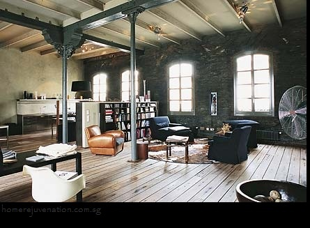 Industrial Interior Desing Spaces For Living.some Day I Will Design A Some  Place To Live My Paradise.HOME