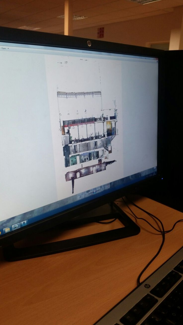 Digital scans of the Malt Cross Music Hall in Nottingham by BSc Civil Engineering student M. Taylor