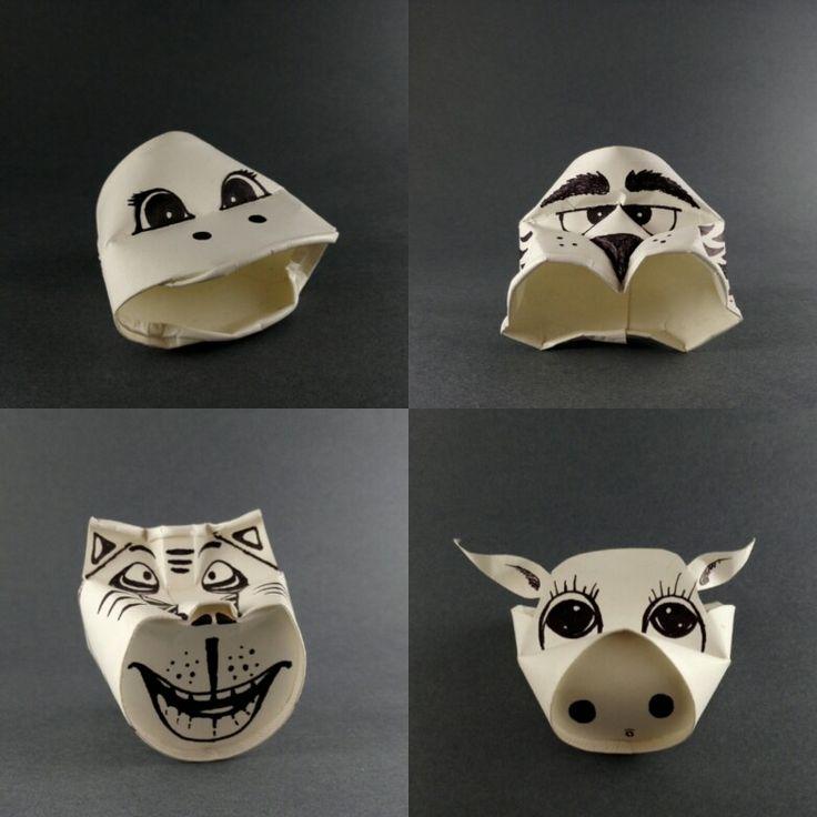 #animals in paper#funcups
