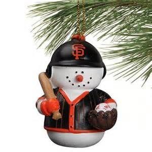 Sf Giants Christmas Ornaments