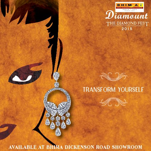 Celebrate your metamorphosis into your most poised self with Bhima diamond earrings! #Bhima #diamond #fest