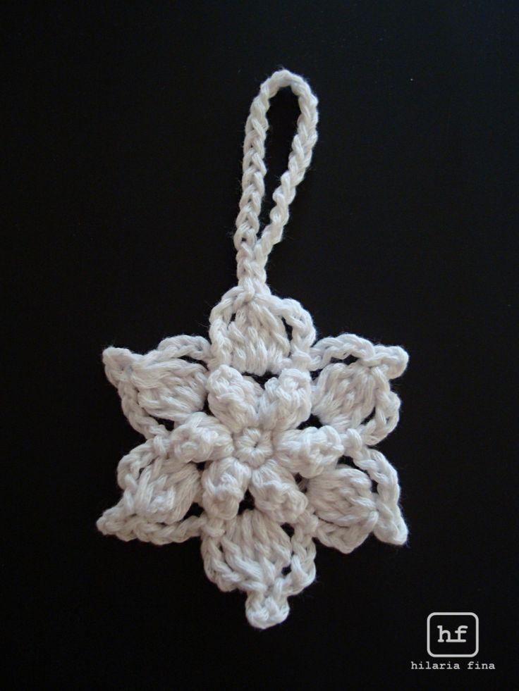 Crochet Snowflake Star