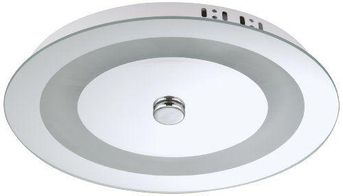 Briloner Leuchten Bad- Deckenleuchte, 1 flammig, T5 55W, titanfarbig 2130-558