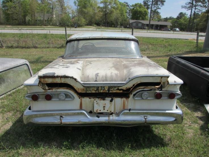 Ford Edsel at a salvage yard & 7 best edsels cars images on Pinterest | Station wagon Vintage ... markmcfarlin.com