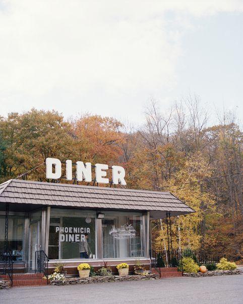 Phoenicia Diner, the Catskills, NY