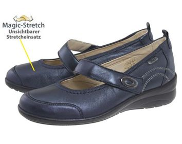 Mary-Jane Hallux Ballerina Ladies Bunion Shoes - Fidelio Magic Stretch - Treat Bunions Without The Need For Surgery