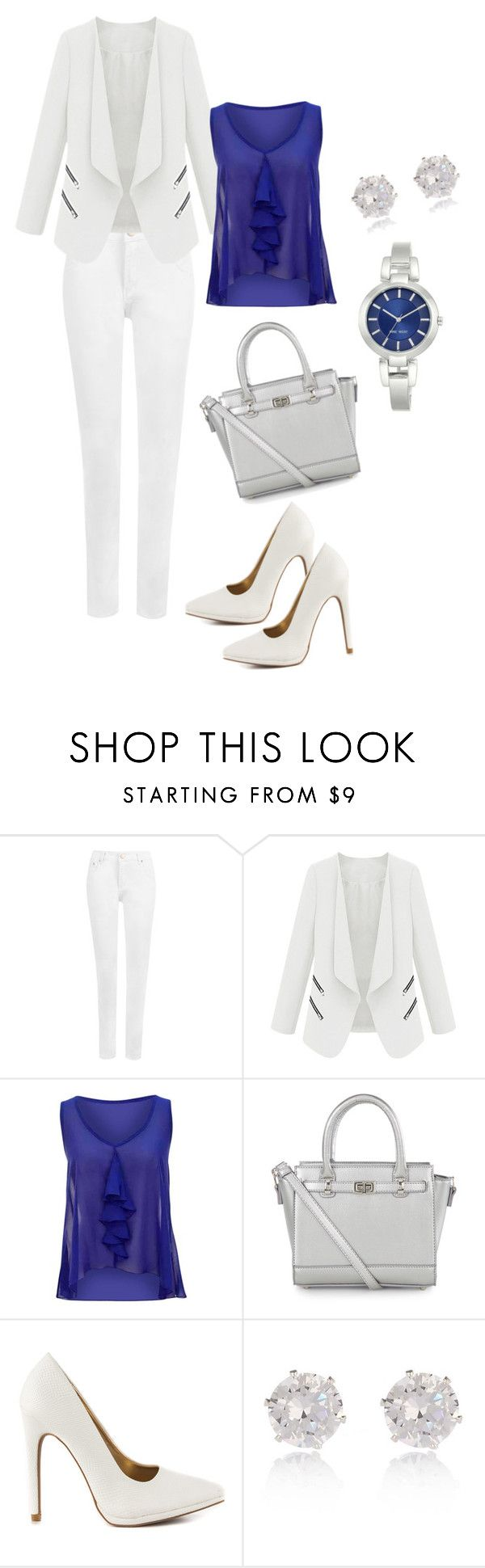 Untitled #28 by reetta-v on Polyvore featuring WearAll, Qupid, Accessorize, Nine West and River Island