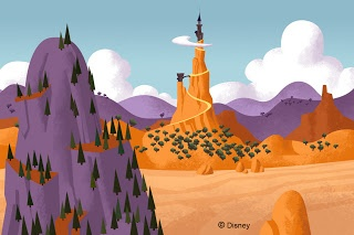 Santiago Verdugo_ #background #Disney