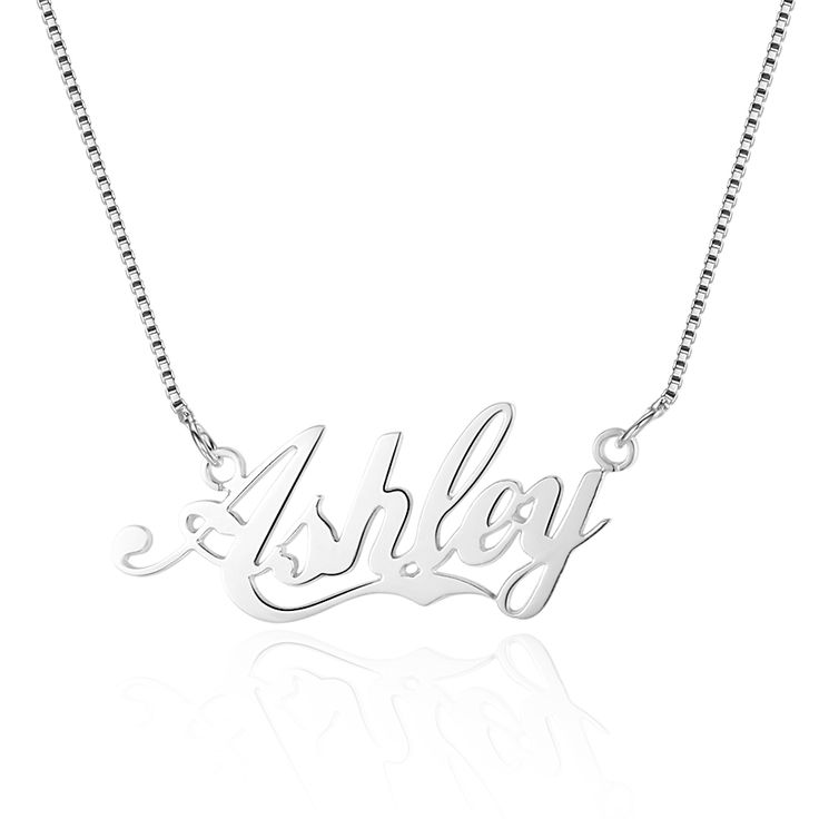 Personalized Sterling Silver Name Necklace - Belis Delights