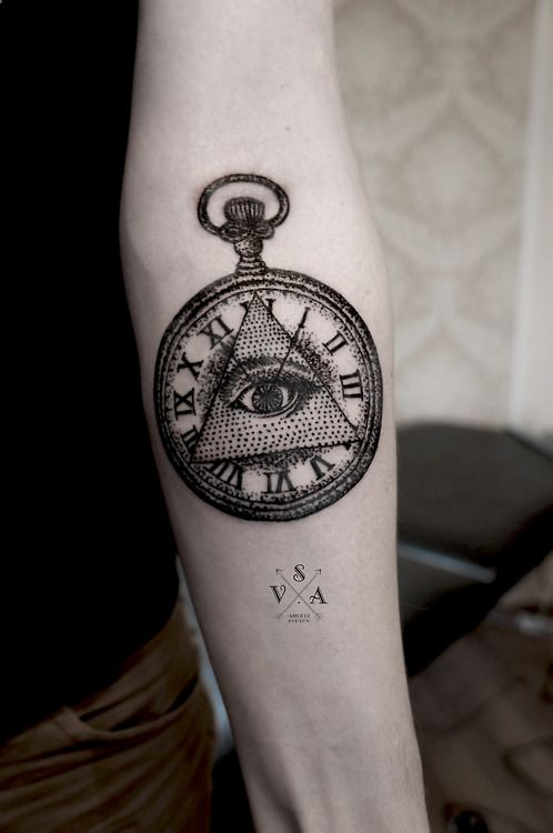 Illuminati Clock