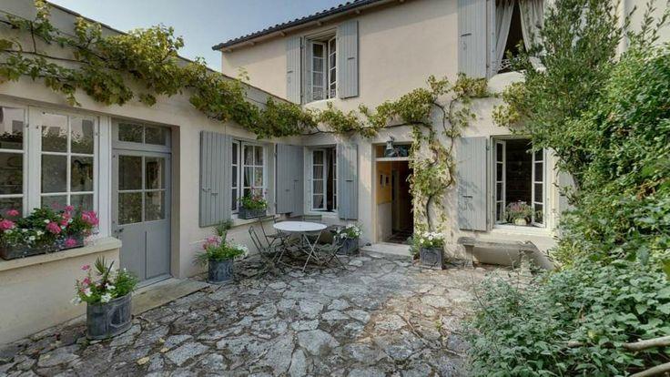 Vente maison de charme avec jardin les portes en re acheter un bien immobil - Photo de charme en couleur ...