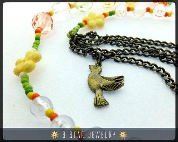"Baha'i Prayer Beads ""SPRING""  5 x 19 Alláh-u-Abhá  by 9StarJewelry #bahai #bahaiprayerbeads #9starjewelry"