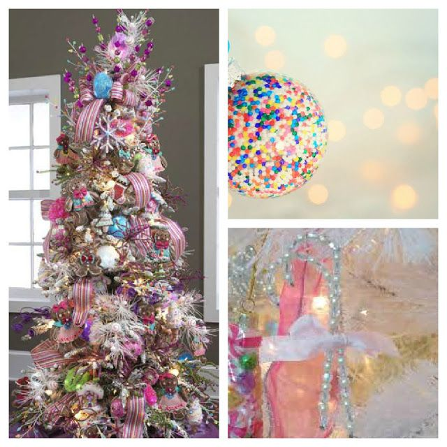 101 best xmas tree decorating images on pinterest for Christmas tree color schemes