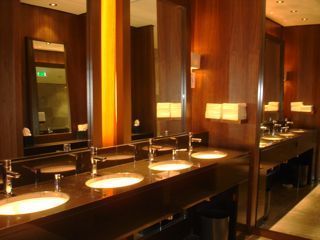 134 best restaurant bathrooms images on pinterest | public