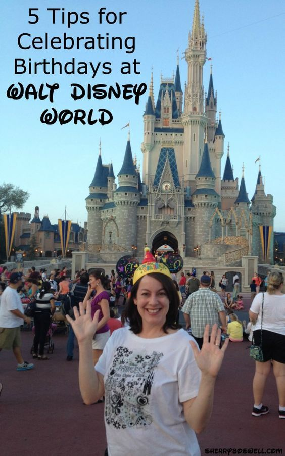 Birthdays at Walt Disney World are the BEST! Here are my 5 tips on making the most out of your birthday celebration at Disney.