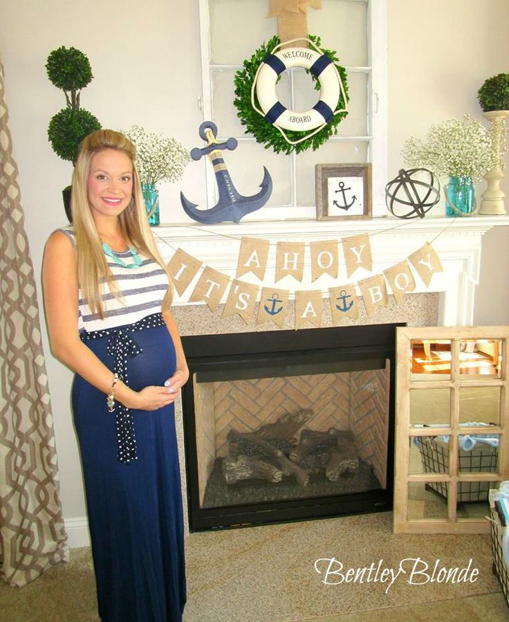 BentleyBlonde: My Nautical Baby Shower