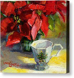 Holiday Scene Canvas Print by Linda Smith
