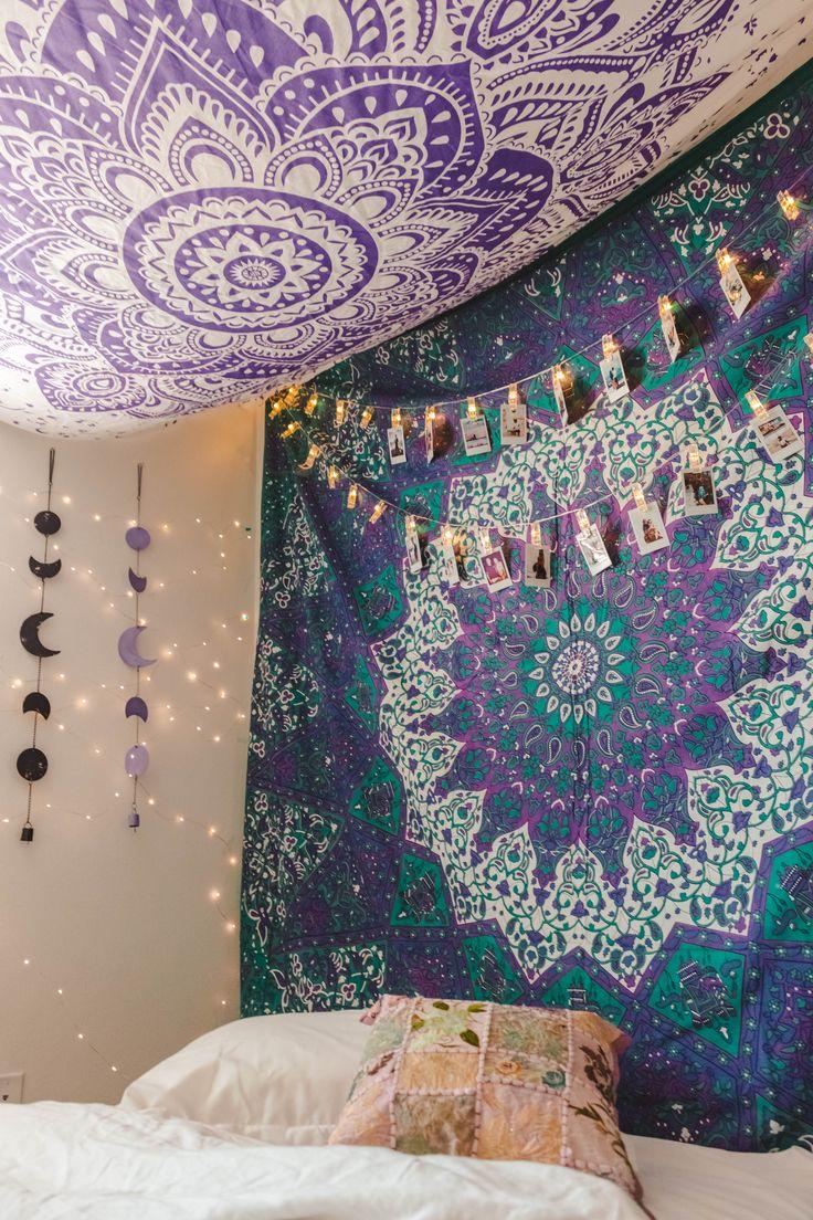 M s de 25 ideas incre bles sobre dormitorios hippies en for Decoracion hogar hippie