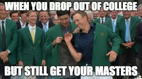 Only golf people will understand