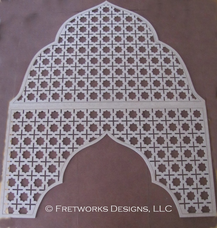 Moroccan Fretwork Panels: 10 Best FRETWORK PANEL Images On Pinterest