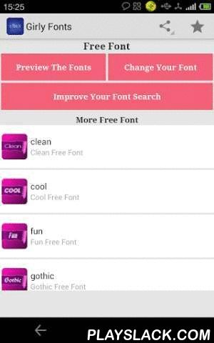 Fonts For FlipFont Girly  Android App - playslack.com , Girly fonts for FlipFont.To change fonts on your Samsung Galaxy device, navigate to the display settings in your device's system settings. In the display settings you can change the font style to any of these new fonts for Android. This font pack should work on all Galaxy and will provide fonts for Samsung Galaxy S3, fonts for Samsung Galaxy S4, fonts for Galaxy Note 3,fonts for Galaxy S5.This Font Pack contains 8 fonts for Samsung…