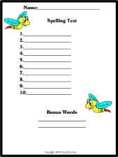 Spelling Test paperLiteracy Centers Acting, Test Paper, Spelling Ideas, Spelling Test, Classroom Ideas, Education Materials