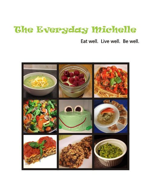 The Everyday Michelle: Recipe Books & Bolognese Sauce, Marinara & More