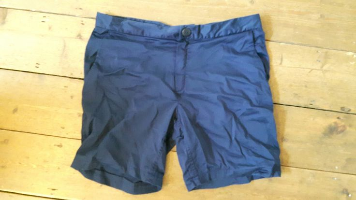 Thread Theory Jedediah shorts for Joe. Blue cotton stretch sateen. Love the pattern, really clever and gives a professional result  (obviously better when ironed 😋)
