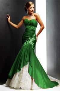 10  images about Green Wedding Dresses on Pinterest - Mint wedding ...