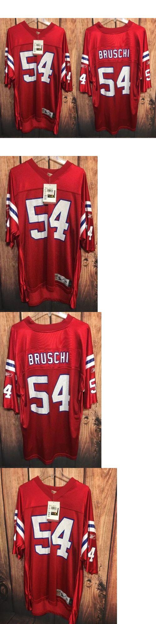 Football-NFL 206: New England Patriots Tedy Bruschi Jersey Throwbacks Reebok Nfl Mens Xl Nwt -> BUY IT NOW ONLY: $74.95 on eBay!