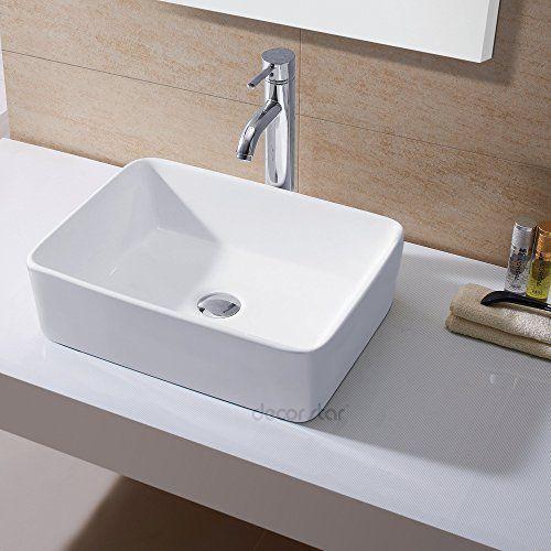 Decor Star CB 013 Bathroom Porcelain Ceramic Vessel Vanit... Https:/