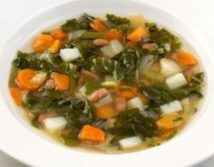 An article talking about the medically proven soup diet of Sacred Heart.