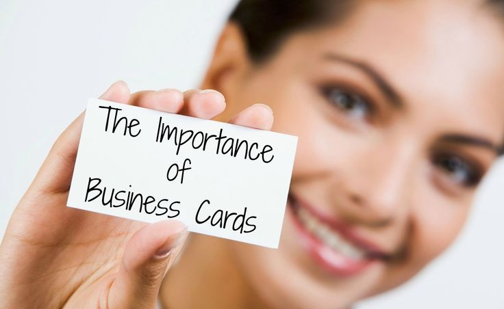 Business Cards As An Important Marketing Tool