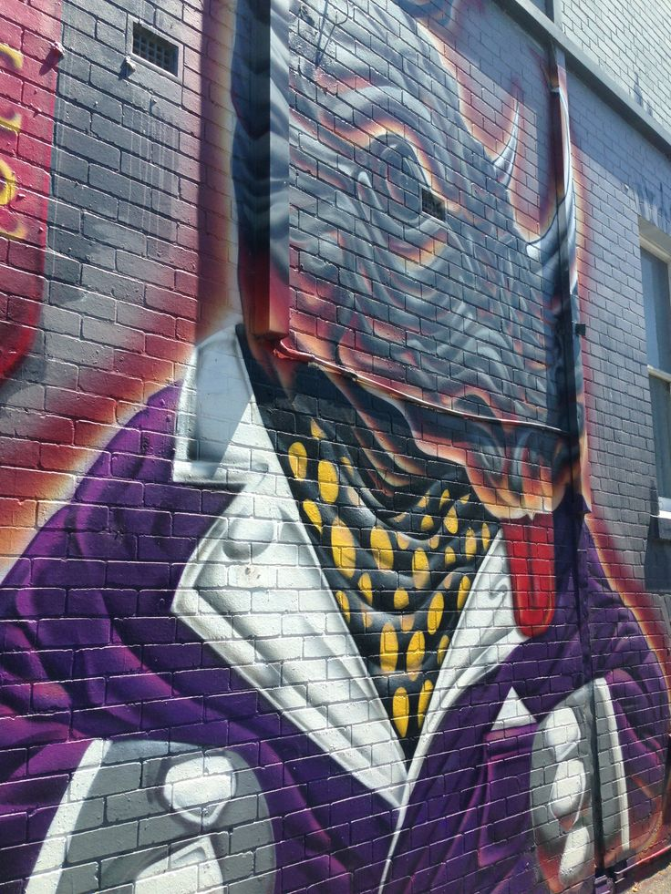 Can't turn the corner in #Fitzroy #Melbourne without bumping into some #streetart, #Graffiti or a #Hotel or #Pub.