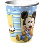 Mickey's 1st Birthday Party Cups #1stbirthdaypartysupplies