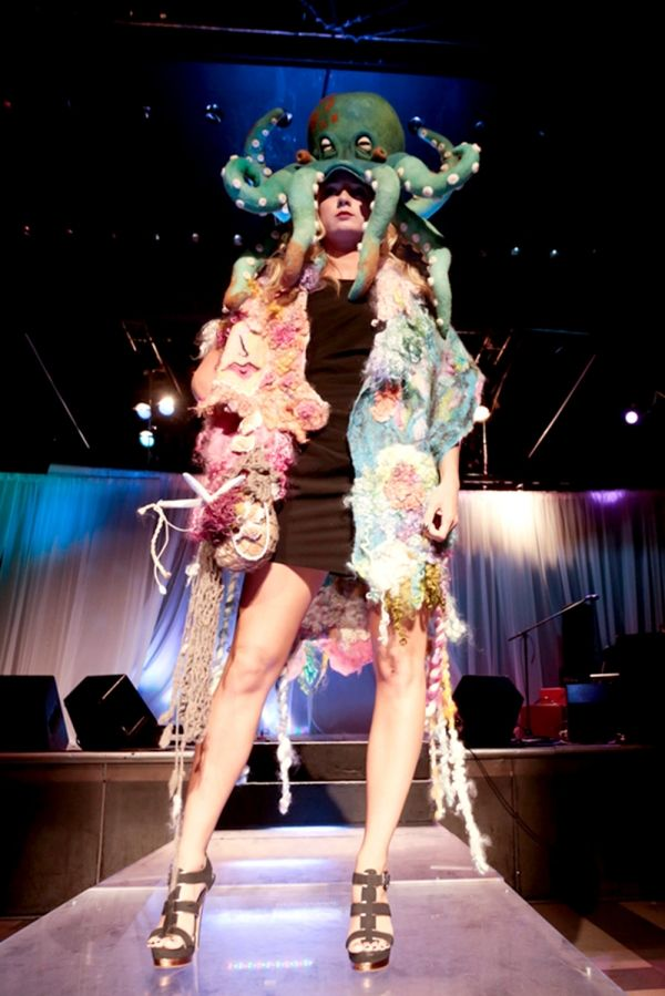 Octopus Hat on the Runway!