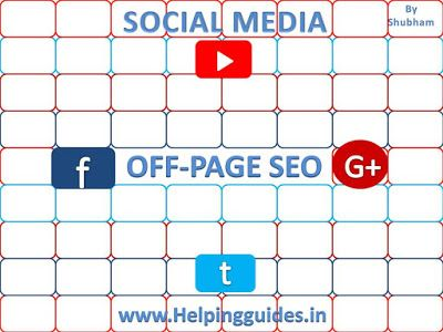 Helping guides: Off Page SEO:How to optimize your page perfectly t...