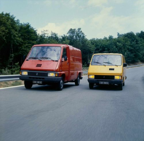 French-Cars-since-1946 • 1981 Renault Master & Trafic...