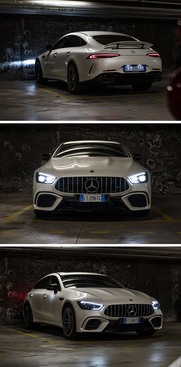 Always ready to go: the Mercedes-AMG GT 53 4MATIC + 4-door coupe. 📷 Thomas R …  – Mercedes-AMG GT