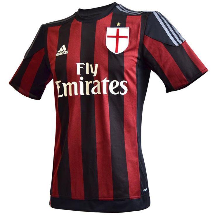 Milan Maglia Ufficiale Home 2015-16