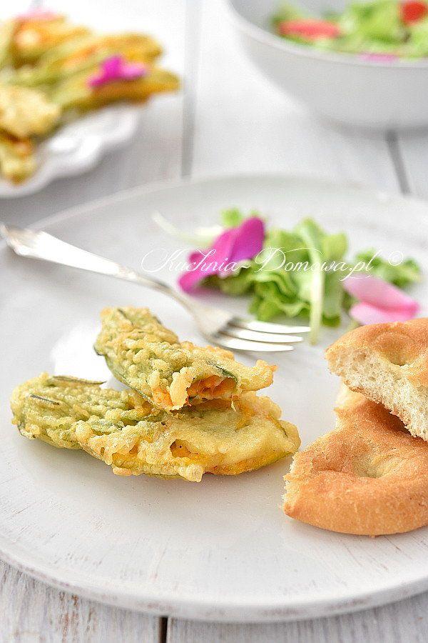 Kwiaty Cukinii W Tempurze Breakfast Food French Toast