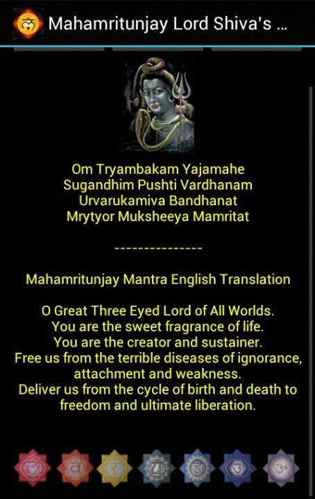 Shivas mantra