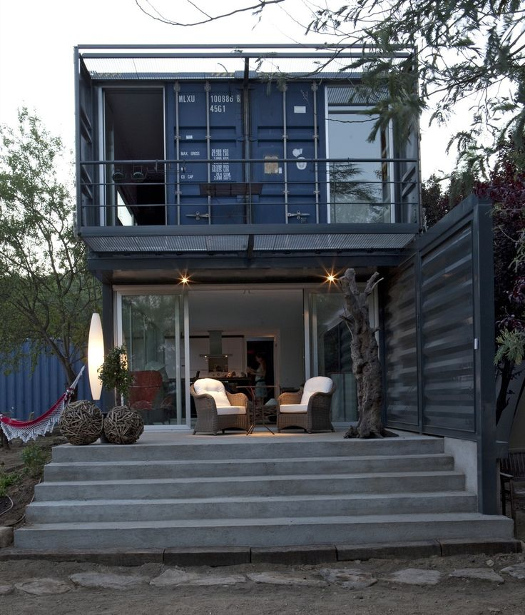 17 best images about building shipping containers on pinterest container architecture - Shipping container homes el tiemblo spain ...