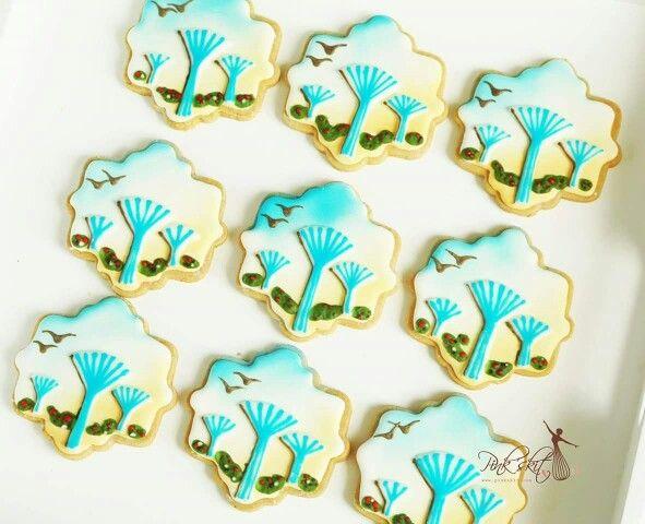 Kuwait water tank cookies