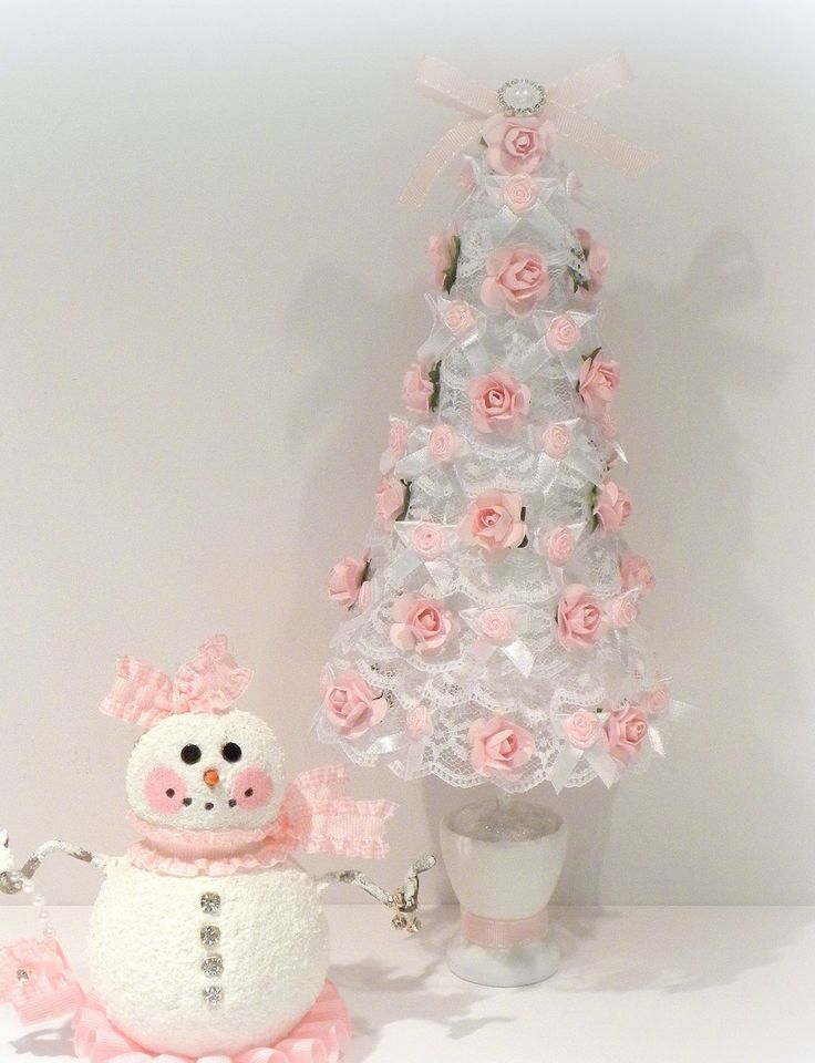 Ideas For Shabby Chic Christmas Decoration 34